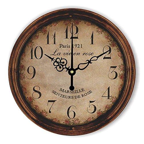 Damjic Europäische Pastorale Dorf Vintage Uhr | Vintage |