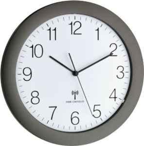 Funk-Wanduhr TFA 60.3512.20 mit Lautlos Sweep-Uhrwerk  |